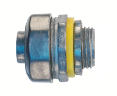 Conector recto liquid tight en zinc de un medio eaton