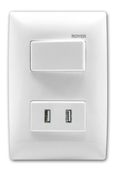 Placa royer 100 6211 usb